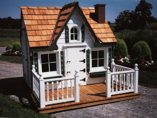 Deluxe victorian playhouse for Victorian playhouse