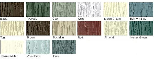 Gardeners Smart Siding Color