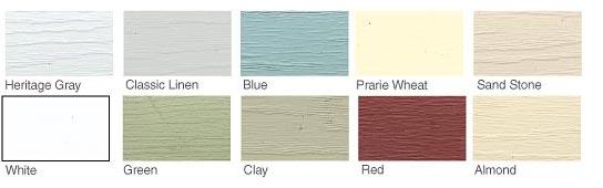 Gardeners Vinyl Siding Colors